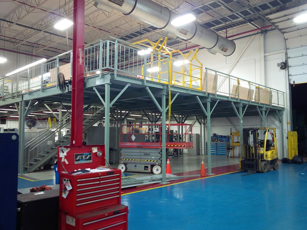 Industrial Steel Mezzanine Systems